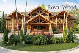 Проект деревянного рубленного дома «Агассис» — 500м2