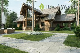 Проект деревянного жилого дома «Орфорд» -192м2