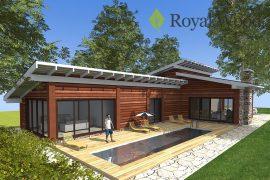 Проект современного деревянного дома «Атабаска» — 260 м2