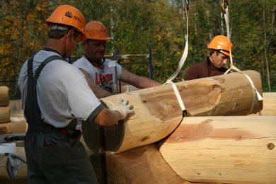Строительство рубленных деревянных домов «под ключ»