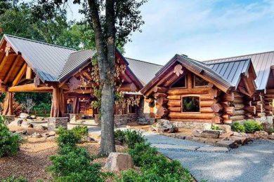 Красный канадский кедр для строительства деревянных домов