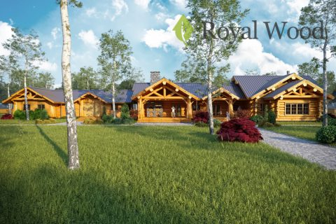 Проект деревянного спа- комплекса «Вистлер» — 560 м²
