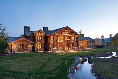 Производство деревянных домов из канадского кедра