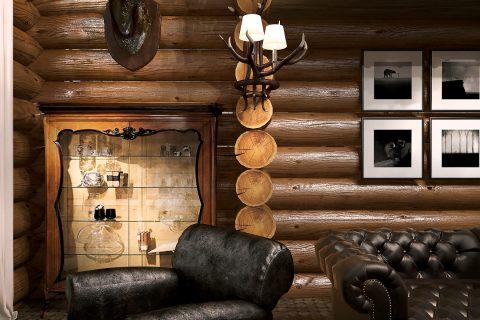 Дизайн интерьера дома площадью 300м² в американском стиле