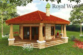 Гостевой дом по безусадочной технологии «Садбери» — 50м²