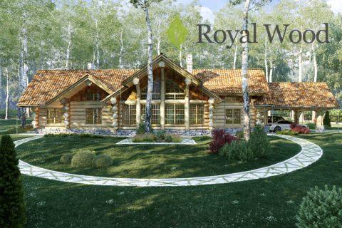 Проект деревянного дома «Торонто» — 400м²