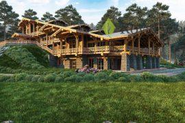 Проект гостиничного комплекса «Ванкувер» — 1500м²