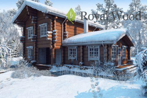 Проект деревянного дома норвежской рубки «Вермон» — 200м²