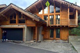 Деревянная гостиница в стиле французского шале от 200м²